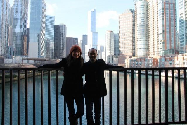Betsy & Steven in Chicago